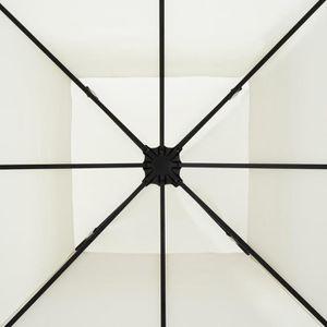 TONNELLE - BARNUM Blumfeldt Odeon Beige Pavillon Tente jardin 3x3m A