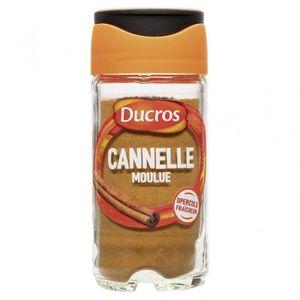 EPICE - HERBE Ducros Cannelle Moulue avec Opercule Fraîcheur 18g
