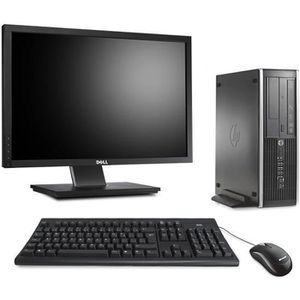 UNITÉ CENTRALE + ÉCRAN Pc de bureau HP 6200 - i3 - 8Go - 250Go HDD - W10