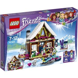 ASSEMBLAGE CONSTRUCTION LEGO® Friends 41323 Le Chalet de la Station de Ski