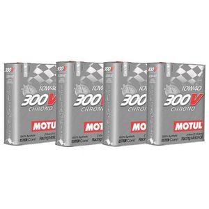 HUILE MOTEUR Huile moteur - MOTUL 104243 300V CHRONO 10W40 - 8
