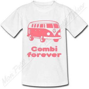 T-SHIRT T-Shirt Combi VW Rose -