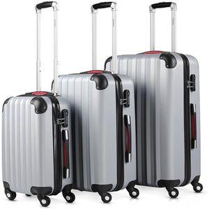SET DE VALISES Lot de 3 valises renforcées set de voyage - 3 vali