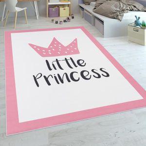 Tapis chambre bebe fille