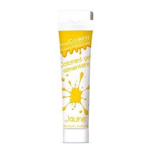 COLORANT ALIMENTAIRE Gel colorant alimentaire jaune 20 g