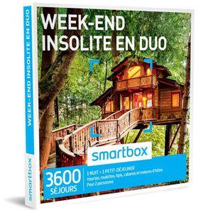 COFFRET SÉJOUR Coffret cadeau -Week-end insolite en duo- Smartbox