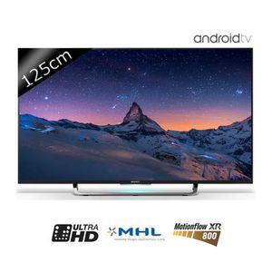 Téléviseur LED SONY TV KD49X8305C - UHD 4K - 125cm (49 pouces) -
