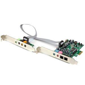 CARTE SON INTERNE StarTech.com Carte son PCI Express 7.1 canaux pour