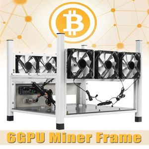 BOITIER PC  BX36 Open Air Mining Frame Miner Case 6 GPU+6 Vent