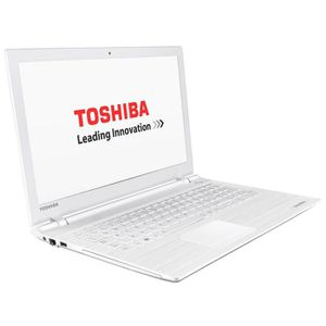 Toshiba Satellite PC Portable Blanc - C55-C-1FM - 15.6'' HD (Intel Core i5, 4Go RAM, Stockage 750Go, Windows 10)