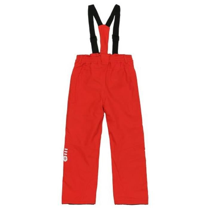 COLOR KIDS Pantalon de Ski Sanglo Rouge