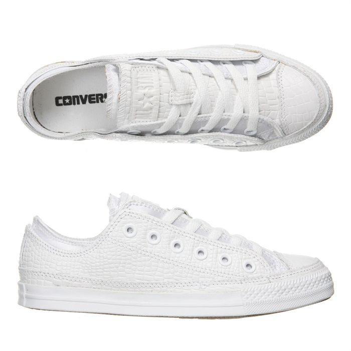 Converse Basse Blanche Homme