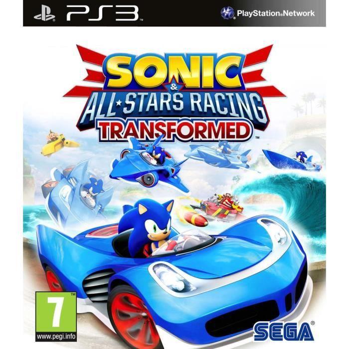 Sonic & All Stars Racing Transformed Jeu PS3