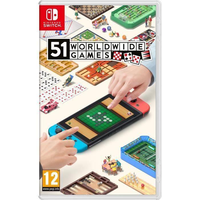 SORTIE JEU NINTENDO SWITCH Jeu Nintendo Switch 51 Worldwide Games
