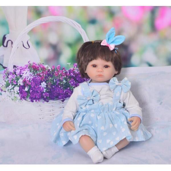 Combinaison Barboteuse Robe Chaussettes - Décor 17 -18 Pouces Fille Américaine Enfant Cadeau