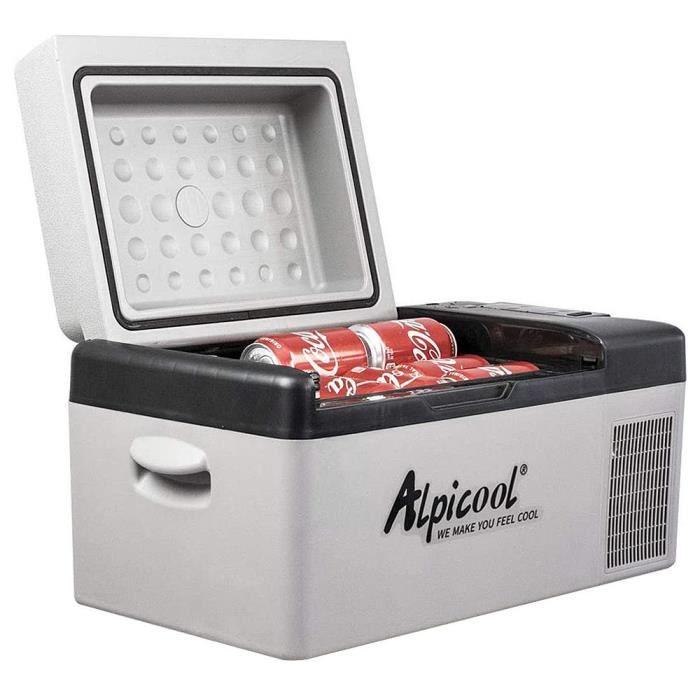 Alpicool C20 Compresseur Réfrigération Voiture Réfrigérateur- Noir