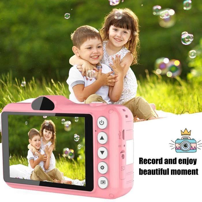 【Caméra enfant】Appareil photo numérique pour enfants pour enfants Cadeaux Appareil photo pour enfants de 3 à 10 ans avec écran de