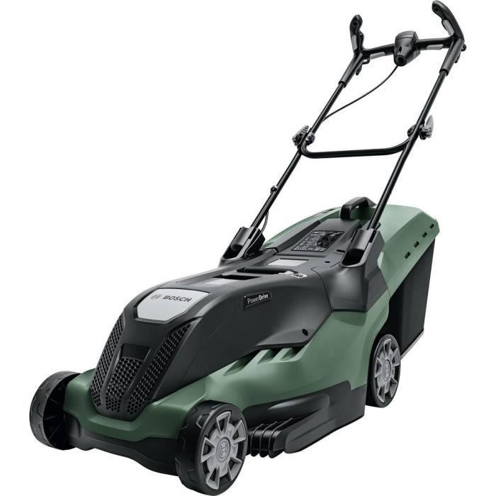 Tondeuse à gazon Bosch Home and Garden UniversalRotak 650 06008B9400 électrique avec réglage de la hauteur de coupe, ave