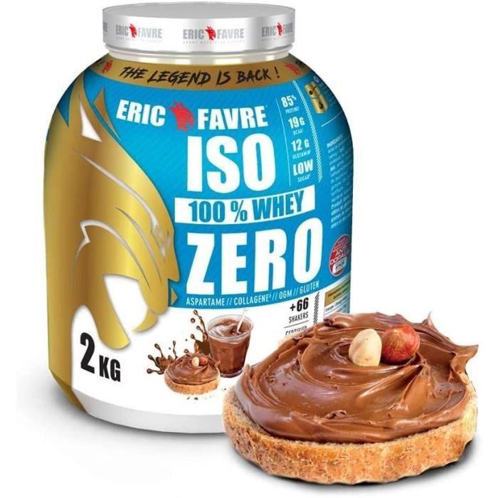 ISO WHEY ZERO 100% Pure Protéine Pure Whey Protéine Isolate Savoureuse Pour Prise de Masse Musculaire Assimilable Rapidement 2 86
