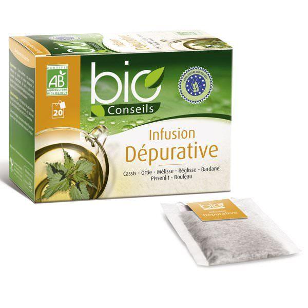 Infusion Dépurative Bio - 20 sachets - Bioconseils