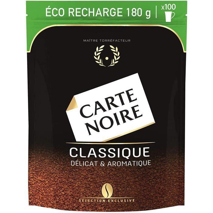 CARTE NOIRE Café Soluble Eco Recharge Classique - 180g