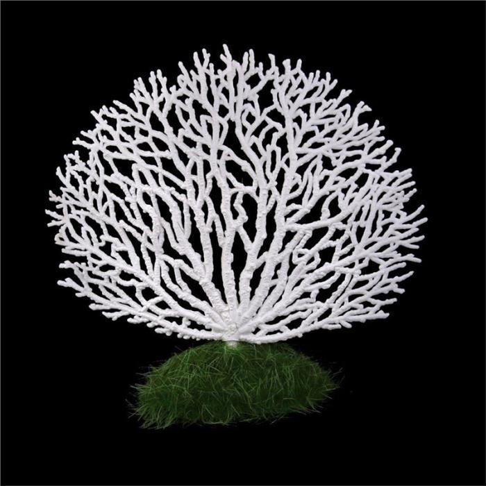 Décoration Pour Aquarium(Blanc)