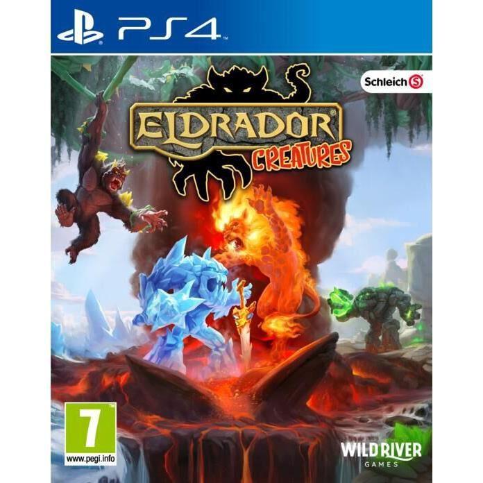 Eldrado Creatures Battle Tactics sur PS4, un jeu Strategie temps reel pour PS4.