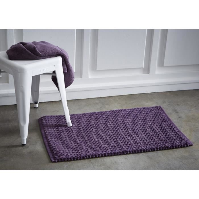 TODAY Tapis de bain tressé 50x80 cm figue