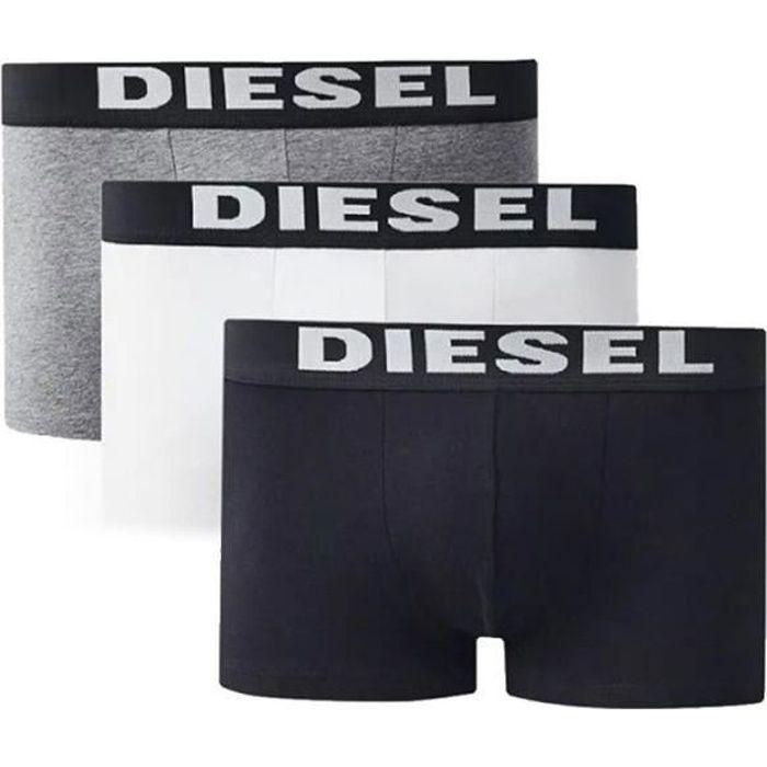 Lot de 3 boxers noir-gris-blanc Diesel