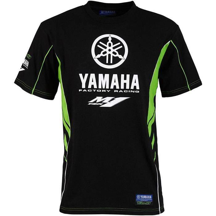 TEE SHIRT ENFANT - JUNIOR - OFFICIEL TECH3 YAMAHA FACTORY RACING MOTOGP