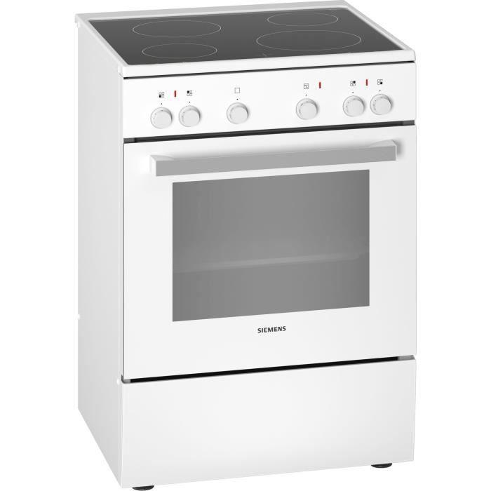 Siemens iQ100 HK5P00020, Cuisinière, Blanc, Rotatif, Tactil, Blanc, Devant, 1,2 m