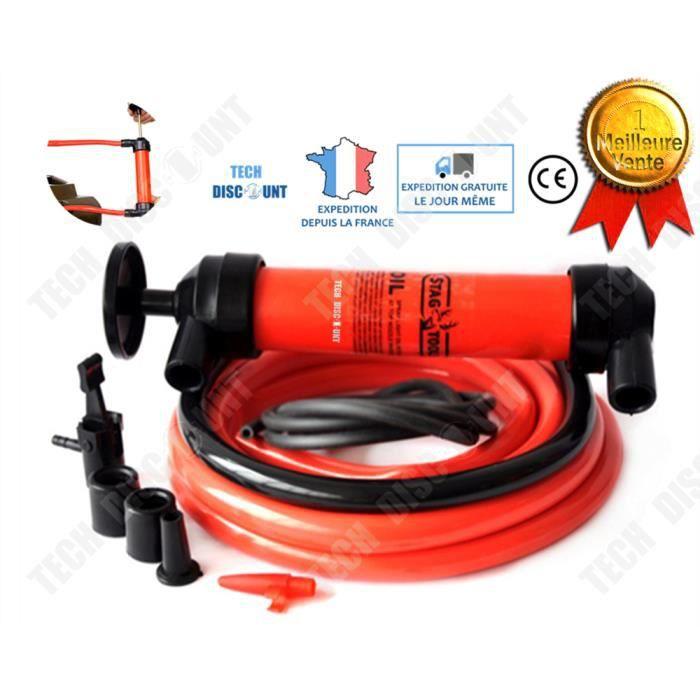 TD® Pompe à huile pour vidange manuelle voitures moteur extraction diesel tondeuse carburant aspiration liquide portatif aspiration