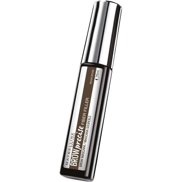 MAYBELLINE NEW YORK Mascara sourcils Marron - 8 ml