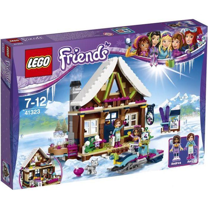 ASSEMBLAGE CONSTRUCTION LEGO® Friends 41323 Le Chalet de la Station de Ski