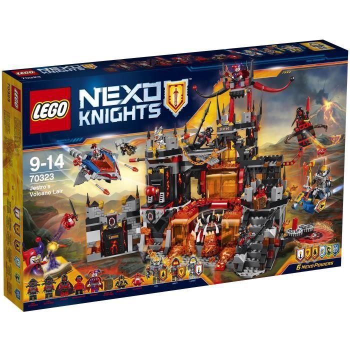 Photo de lego-nexo-knights-70323-le-repaire-volcanique-de-jestro