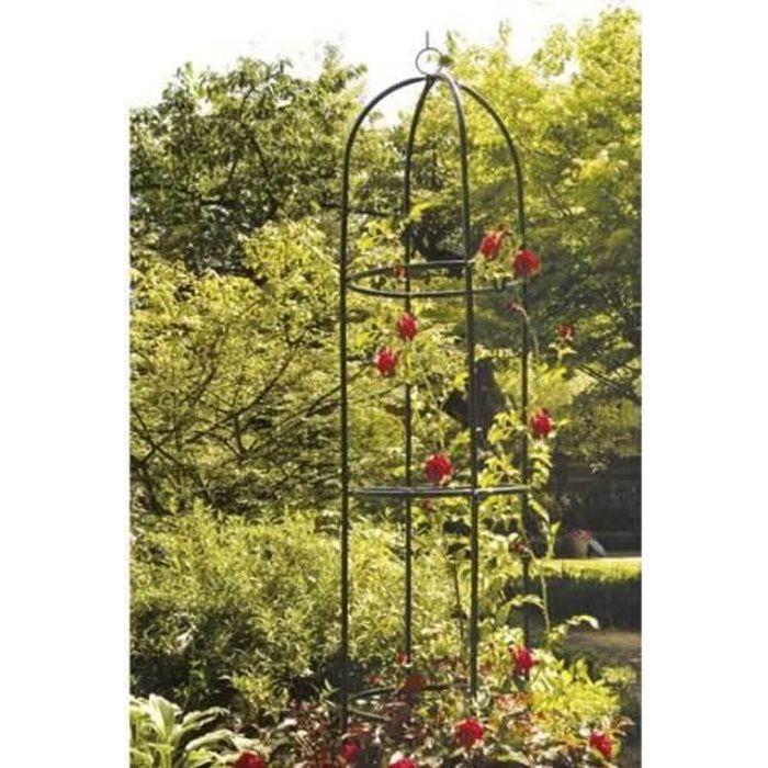 Arcade de rosiers 240x140x37cm Arceau Arche All/ée Entr/ée Jardin Pergola Roses et Plantes grimpantes