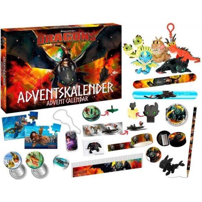 Calendrier De L Avent Spiderman.Dragons Calendrier De L Avent