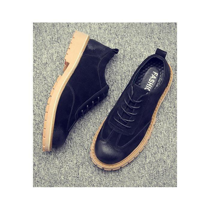 BLKG vintage chaussures homme Bottine à XZ3080 boots occasionnels lacets nwk08PO