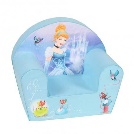 disney princesses fauteuil club cendrillon bleu achat vente fauteuil canap b b. Black Bedroom Furniture Sets. Home Design Ideas