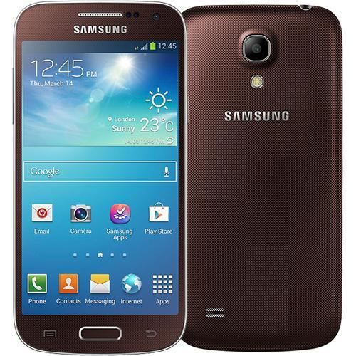 i9192 galaxy s4 mini dual sim marron achat smartphone. Black Bedroom Furniture Sets. Home Design Ideas