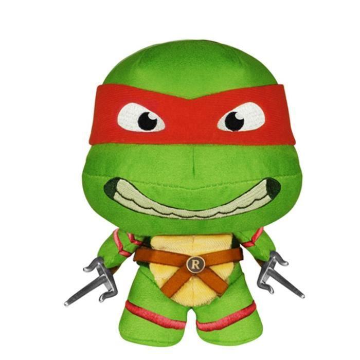 PELUCHE Teenage Mutant Ninja Turtles Raphael NZXH0