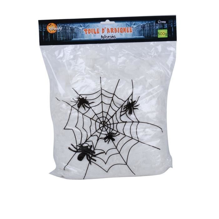 Spider Web /& 3 Spider maison de poupées miniature Halloween