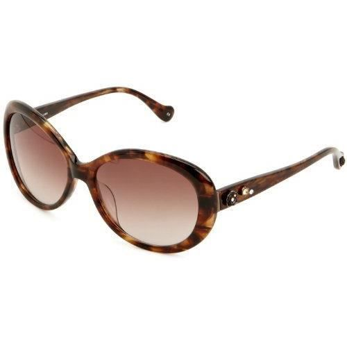Anna Sui - Lunette - Femme - Marron (Brown Horn) - FR : Taille Unique (Taille fabricant : One Size)