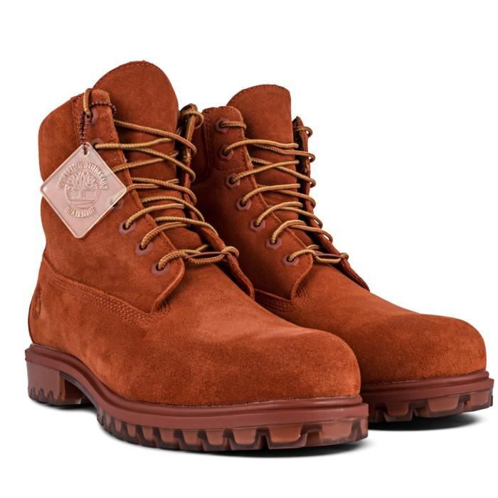 TIMBERLAND Tpu 6 Bottine Homme - Taille 41 - MARRON
