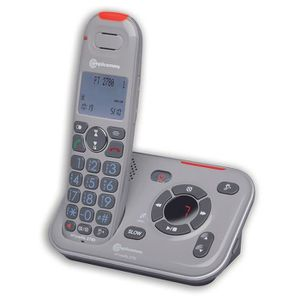 Téléphone fixe Téléphone sans fil fortement amplifié, à faible di