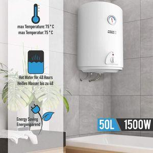 CHAUFFE-EAU Chauffe-eau électrique | Réservoir de 50 litres |