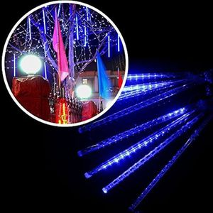 GUIRLANDE D'EXTÉRIEUR 8pcs Lampe Bande LED Chute de Pluie - Glaçon Décor
