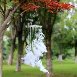 ATTRAPE-RÊVES Capteur de rêves fait main avec décoration de plum