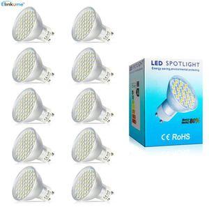AMPOULE - LED Elinkume Ampoule Spot LED 10X GU10 4.5W Blanc Chau