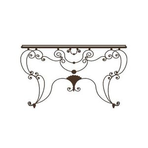 Table en fer forge achat vente table en fer forge pas for Table d appoint fer forge